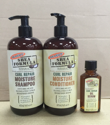PALMER'S  SHEA BUTTER FORMULA CURL REPAIR PRODUCTS